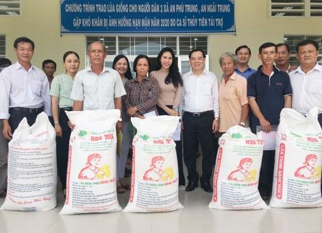 Tặng 12 tấn lúa giống cho nông dân Ba Tri
