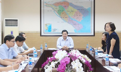 Phó chủ tịch UBND tỉnh Nguyễn Hữu Lập làm việc với Tổ chức Đông Tây Hội Ngộ