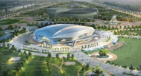 Bóng chuyền SEA Games 31 sẽ được tổ chức tại NTĐ hiện đại nhất ĐNA