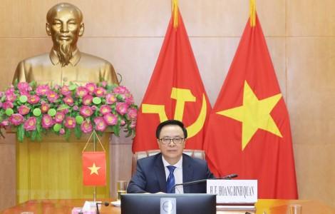 Hội nghị bàn tròn chính đảng quốc tế về hợp tác an ninh thời COVID-19