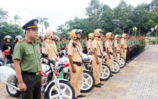 Công an tỉnh ra quân tấn công, trấn áp tội phạm