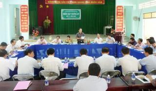 Giồng Trôm họp hội đồng quản trị ngân hàng chính sách lệ kỳ