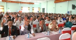 Đại hội Đảng bộ huyện Mỏ Cày Nam tiến hành phiên trù bị