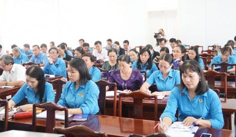 Tập huấn Điều lệ và Hướng dẫn thi hành Điều lệ Công đoàn Việt Nam