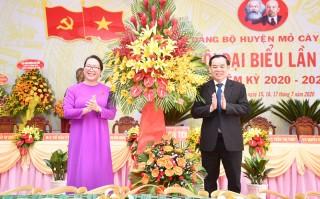 Khai mạc Đại hội đại biểu Đảng bộ huyện Mỏ Cày Nam nhiệm kỳ 2020-2025