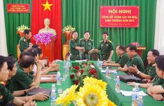Công tác thi đua, khen thưởng trong lực lượng vũ trang tỉnh