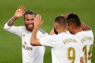 Real trở thành tân vương La Liga
