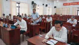 Lấy ý kiến đóng góp dự thảo lần 2 Văn kiện trình Đại hội XI Đảng bộ tỉnh