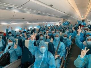 Đưa trên 300 công dân Việt Nam từ Malaysia về nước