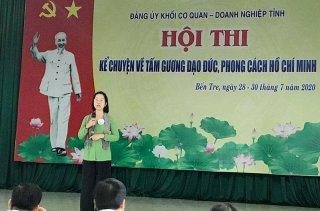 Chung kết hội thi kể chuyện tấm gương đạo đức, phong cách Hồ Chí Minh