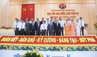 Đại hội Đảng bộ huyện Thạnh Phú lần thứ XII tổ chức phiên trù bị