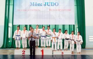 Bế mạc giải Judo trong Đại hội thể thao đồng bằng sông Cửu Long