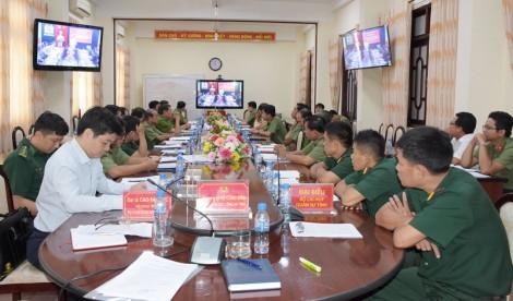 Hội nghị giao ban giữa Bộ Công an và Bộ Quốc phòng 6 tháng đầu năm 2020