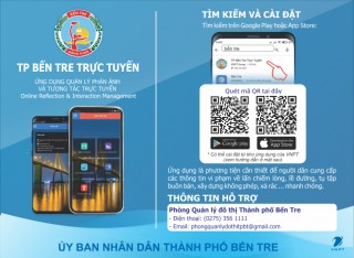 TP. Bến Tre xử lý vi phạm lấn chiếm lòng lề đường trên nền tảng online