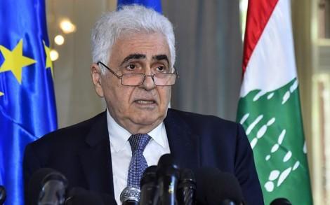 Ngoại trưởng Liban từ chức để phản đối chính sách của chính phủ