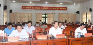 Hội nghị quán triệt Kết luận số 70 và Nghị quyết số 55 của Bộ Chính trị