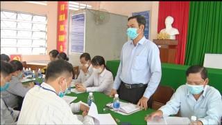 TP. Bến Tre kiểm tra việc phòng chống dịch Covid-19, sốt xuất huyết tại xã Mỹ Thạnh An