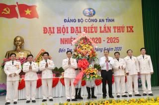 Đại tá Võ Hùng Minh tái đắc cử Bí thư Đảng ủy Công an tỉnh