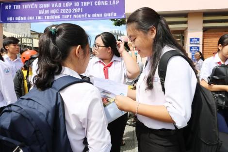 Gần 77% thí sinh đậu lớp 10 THPT năm học 2020-2021