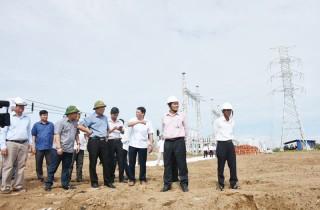 Kiểm tra tiến độ triển khai nhà máy điện gió số 5