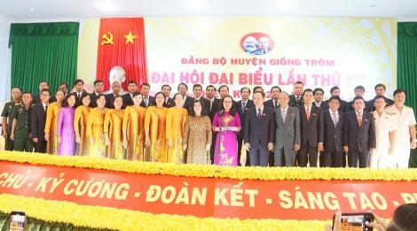Bế mạc Đại hội đại biểu Đảng bộ huyện Giồng Trôm, nhiệm kỳ 2020 -   2025