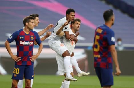 Hủy diệt Barcelona, Bayern hiên ngang vào bán kết