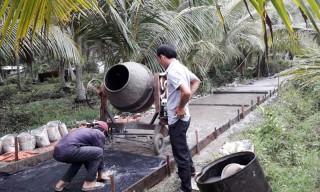 Mỏ Cày Nam tháo gỡ khó khăn trong giải ngân vốn đầu tư công