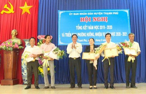 Thạnh Phú triển khai nhiệm vụ năm học 2020-2021