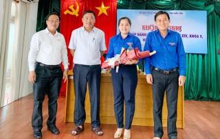 Đồng chí Võ Thị Phương Diệu được bầu giữ chức Phó bí thư Tỉnh Đoàn