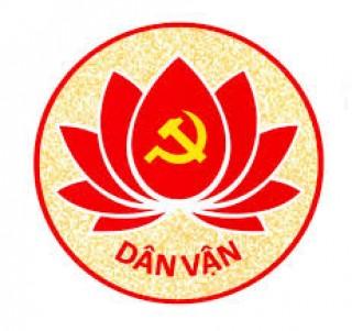 Tuyên truyền kỷ niệm 90 năm Ngày truyền thống công tác dân vận của Đảng