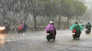 Cảnh báo mưa to, giông lốc