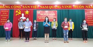 Công nhân Công ty Pungkook được nhận trợ cấp do ảnh hưởng dịch Covid-19