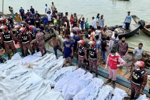 Chìm thuyền, ít nhất 10 người thiệt mạng ở Bangladesh