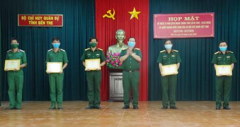 Hoạt động tuyên huấn trong lực lượng vũ trang tỉnh