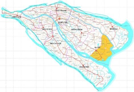 Xây dựng cơ sở hạ tầng phục vụ phát triển sinh kế bền vững cho người dân vùng ven biển Ba Tri
