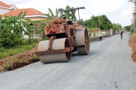 Thạnh Phước tập trung hoàn thành 19 tiêu chí nông thôn mới