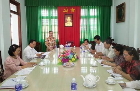 Ban Dân vận Tỉnh ủy kiểm tra thực hiện Đề án số 3333 tại huyện Giồng Trôm