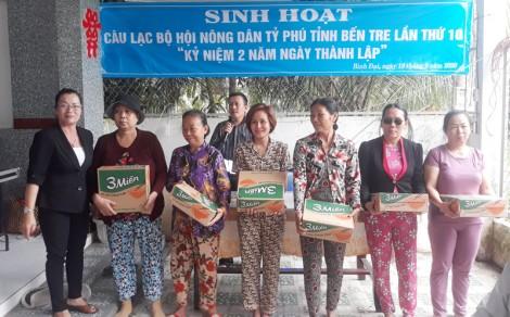 Câu lạc bộ Nông dân tỷ phú tỉnh kỷ niệm 2 năm thành lập