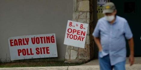 Bầu cử Mỹ: 4 bang bắt đầu bỏ phiếu sớm theo hình thức trực tiếp