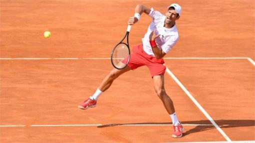 Djokovic vào chung kết Rome Masters lần thứ 10