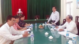 """Ban Dân vận Tỉnh ủy kiểm tra thực hiện chủ đề """"Năm Dân vận khéo 2020"""" tại Mỏ Cày Bắc"""