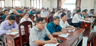 Tập huấn Chính trị viên Ban CHQS xã, phường thị trấn năm 2020