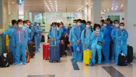 Tiếp nhận 160 công dân Việt Nam từ Đài Loan về cách ly