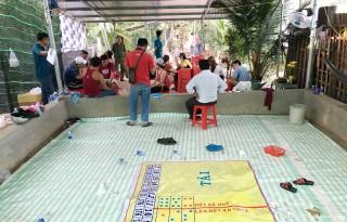 Triệt xóa tụ điểm cờ bạc ven sông Tiền
