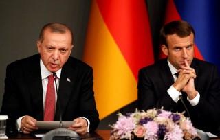 Lãnh đạo Pháp, Thổ Nhĩ Kỳ lần đầu điện đàm sau nhiều tháng căng thẳng