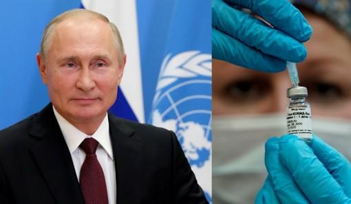 Tổng thống Putin đề nghị cấp miễn phí vaccine COVID-19 cho nhân viên LHQ