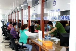 Trung tâm phục vụ hành chính công giải quyết hơn 51 ngàn hồ sơ các loại