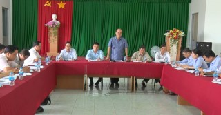 Bí thư Thành ủy TP. Bến Tre Nguyễn Văn Tuấn làm việc với Đảng ủy Phường 7