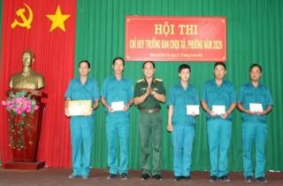 TP. Bến Tre thi cán bộ chỉ huy trưởng quân sự xã, phường năm 2020