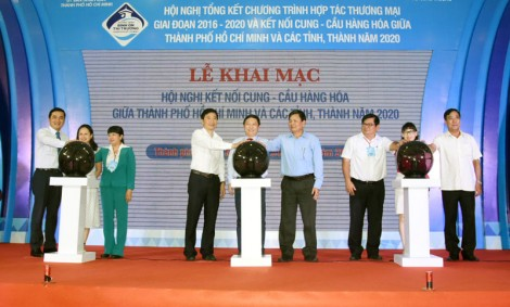 Hợp tác thương mại giữa TP. Hồ Chí Minh và các tỉnh, thành
